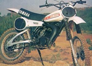 空冷モトクロスバイク