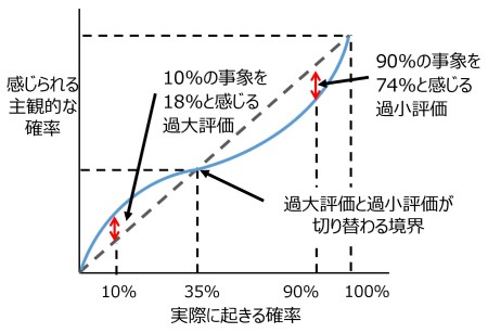 図6 確率加重関数