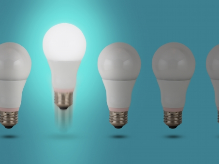 図7 普及するLED照明