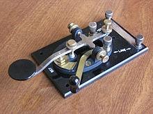 図7 初期の電信機