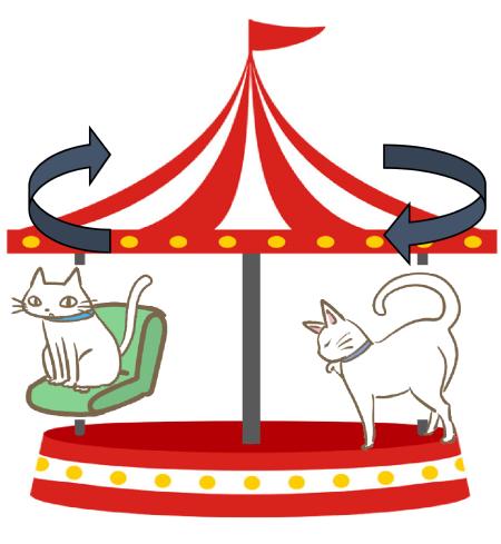 図9 ゴンドラ猫の実験